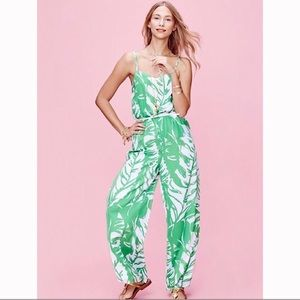 Lilly Pulitzer For Target Green Palm Jumpsuit! 🌴
